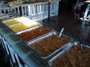Catering, Funeral Catering, Party Menu